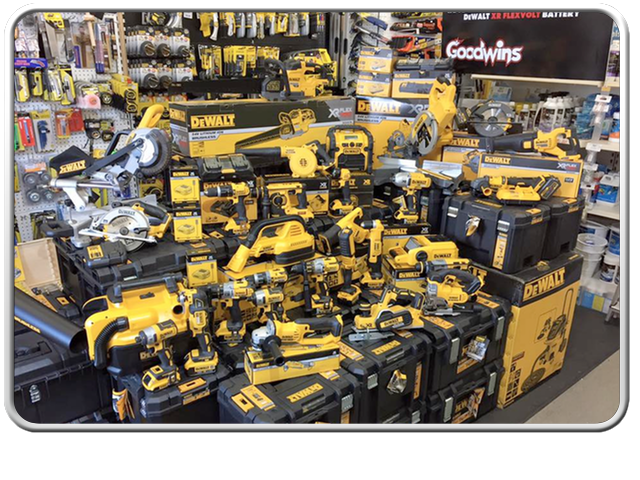 Goodwins Power Tools Margate The Big Boys Toy Shop